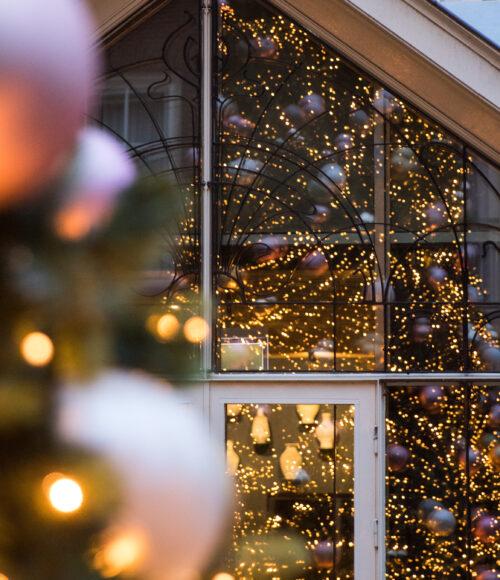 Pulitzer komt met feestelijk nieuws: de wintergarden is geopend en meer leuks voor de feestdagen