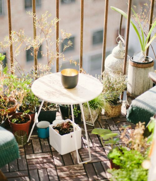 Je buitenverblijf (tuin/ balkon/ postzegel) zitproof maken doe je zo