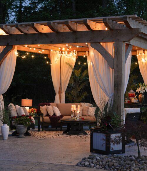 winter outdoor space