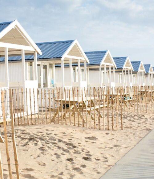 Willy Zuid – om te smullen strandhuisjes in Katwijk aan Zee