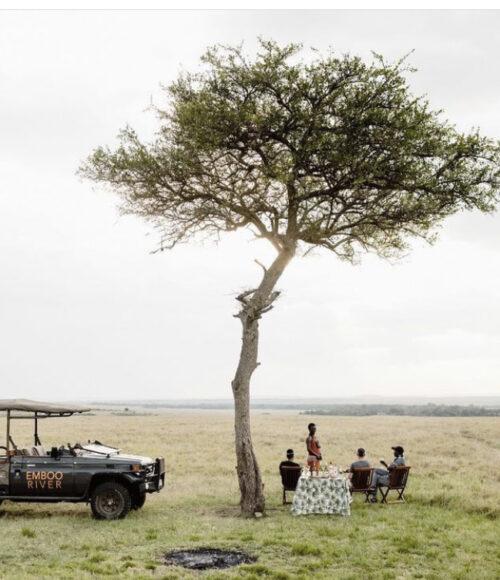 Emboo River in Kenia – ultiem glampen in de bush