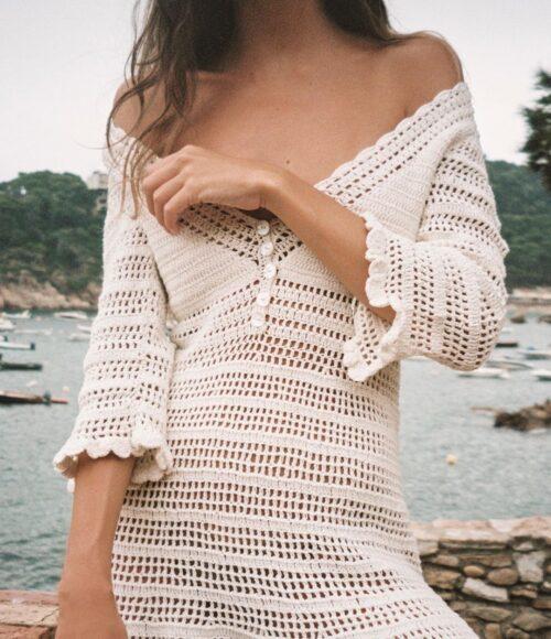 De mooiste crochet jurkjes, vestjes en bikini's