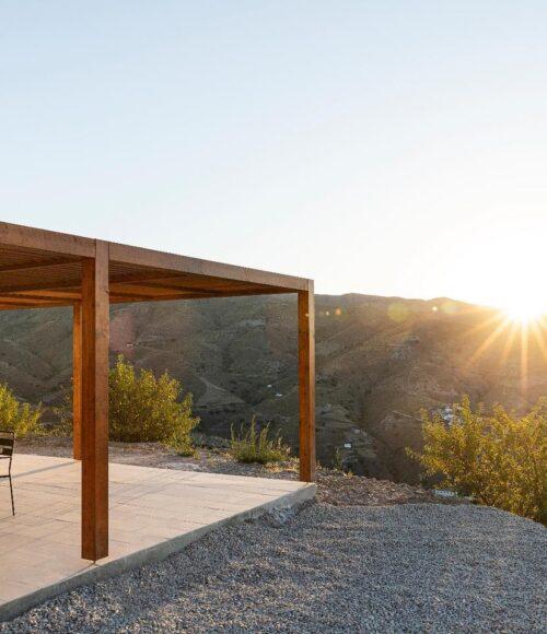 Rust, ruimte en een uitzicht van heb-ik-jou-daar, hallo Villa Atalanta in Spanje