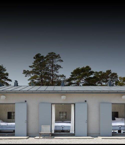 Hotel, trouwlocatie en shoots: Fabriken Furillen in Gotland, Zweden