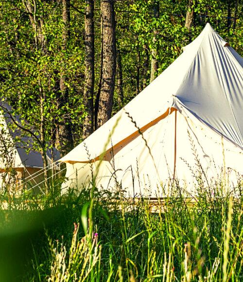 Te gekke Camping Boven 't Maaiveld (Hoogwoud, West-Friesland, Noord-Holland)
