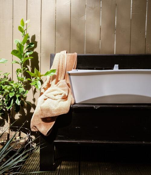 Onmisbaar voor je (baby-)zomer: Stokke Flexi Bath