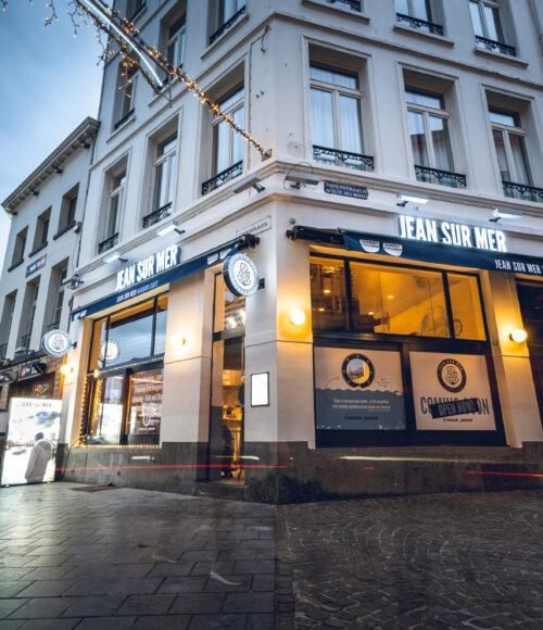 Jean sur Mer Harbor Café, Antwerpen, België