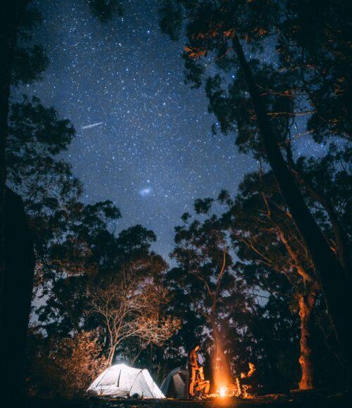 Kakelverse campings in het groen, pop-up restaurants en andere buitenverblijven